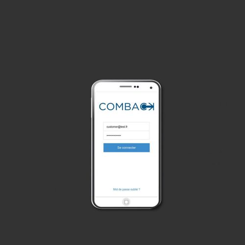 COMBACK APP MOBILE