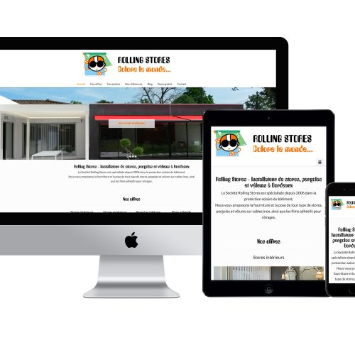 ROLLING STORES SITE VITRINE